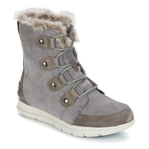 Zapatos Mujer Botas de nieve Sorel SOREL™ EXPLORER JOAN Gris
