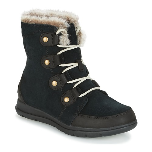 Zapatos Mujer Botas de caña baja Sorel SOREL EXPLORER JOAN Negro