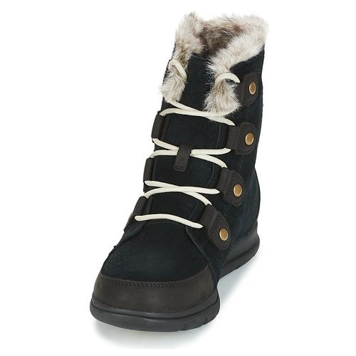 De Negro Zapatos Mujer Botas Nieve Sorel Explorer Sorel™ Joan EH2I9WDY