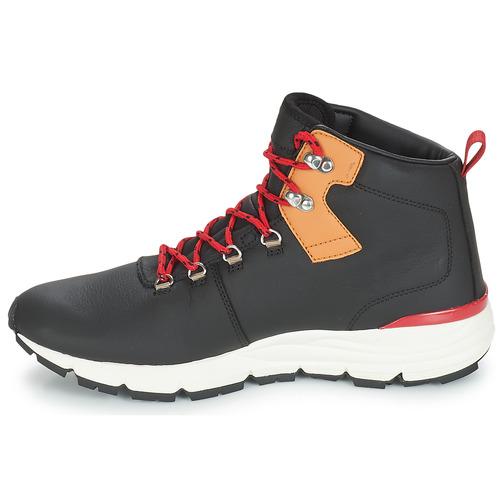 Dc Muirland Shoes Lx Boot NegroRojo Xkck M deoBCx