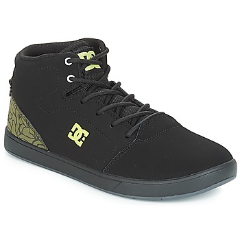 Zapatos Niños Zapatillas altas DC Shoes CRISIS HIGH SE B SHOE BK9 Negro / Verde