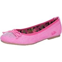 Zapatos Niña Bailarinas-manoletinas Lulu bailarinas rosado fucsia lona AG639 rosado