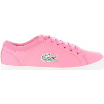 Zapatos Mujer Zapatillas bajas Lacoste 35CAJ0024 STRAIGHTSET Rosa