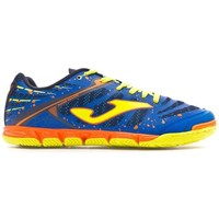 Zapatos Zapatillas bajas Joma Super Regate Blue-Volt-Orange
