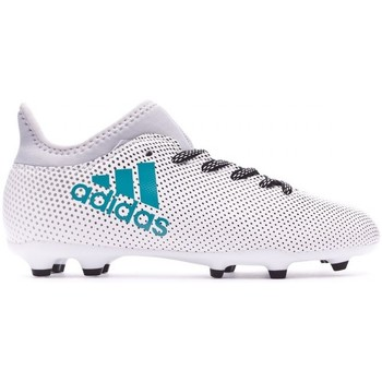 adidas Performance X 17.3 FG Niño White-Energy blue-Core legre