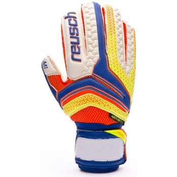 Accesorios textil Hombre Guantes Reusch Serathor Prime M1 Ortho-Tec Dazzling blue-Safety yellow