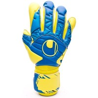 Accesorios textil Guantes Uhlsport Eliminator Speed Up Supergrip Lloris Hydro blue-Lite fluor yellow