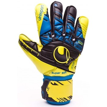 Accesorios textil Guantes Uhlsport Eliminator Speed Up Supersoft Lite fluor yellow-Black-Hydro blue