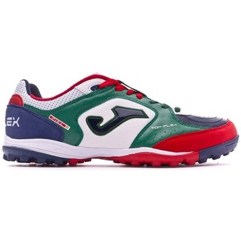 Zapatos Fútbol Joma Top Flex Turf White-Green-Blue