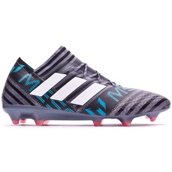Zapatos Hombre Fútbol adidas Performance Nemeziz Messi 17.1 FG Grey-White-Core black