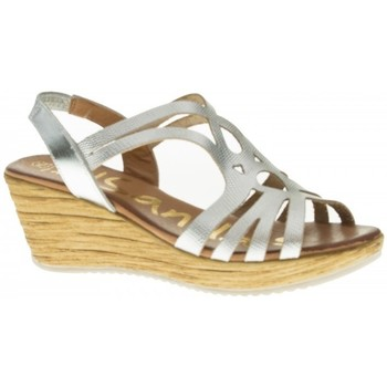 Zapatos Mujer Sandalias Oh My Sandals 3667 plata