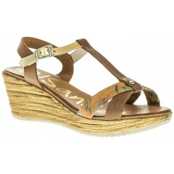 Zapatos Mujer Sandalias Oh My Sandals 3669 marron