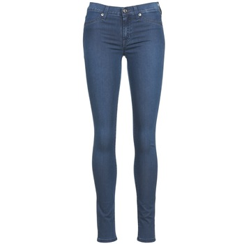 textil Mujer vaqueros slim 7 for all Mankind SKINNY DENIM DELIGHT Azul / Medium