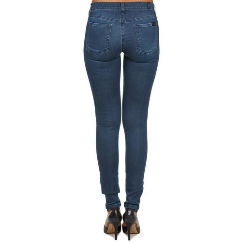 Skinny AzulMedium For Vaqueros All Mujer 7 Mankind Denim Textil Delight Slim dxoeWQCrBE