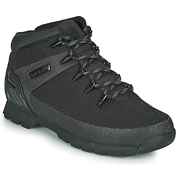 Zapatos Hombre Botas de caña baja Timberland Euro Sprint Fabric WP Negro