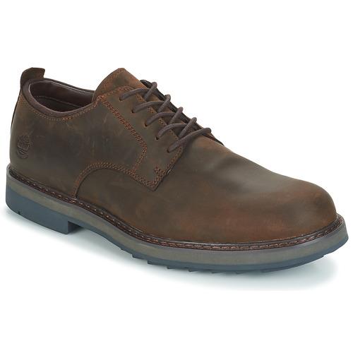Zapatos Hombre Derbie Timberland Squall Canyon PT Oxford Marrón