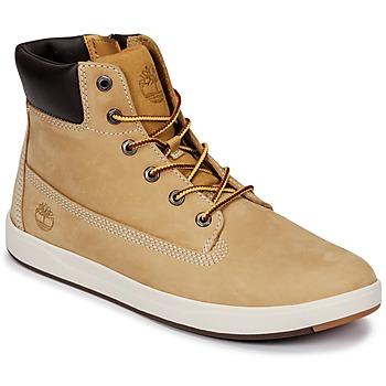 Zapatos Niños Botas de caña baja Timberland Davis Square 6 Inch Boot Cereal / Naturebuck