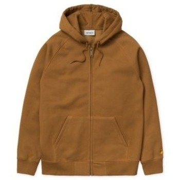 textil Hombre sudaderas Carhartt HOODED CHASE HAMILTON BROWN / GOLD Marrón