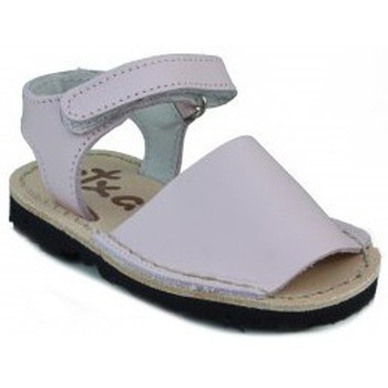 Zapatos Niños Sandalias Arantxa MENORQUINAS HECHA A MANO NIÑOS ROSA