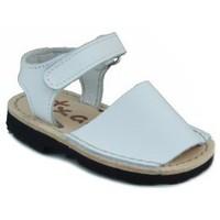 Zapatos Niños Sandalias Arantxa MENORQUINAS HECHA A MANO NIÑOS BLANCO