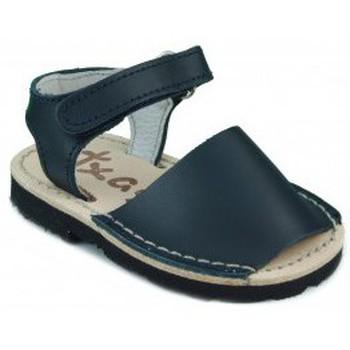 Zapatos Niños Sandalias Arantxa MENORQUINAS HECHA A MANO NIÑOS MARINO