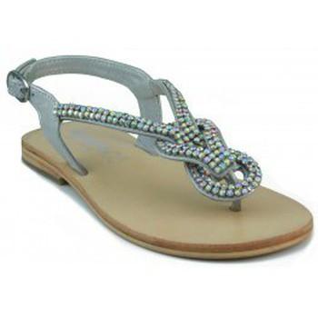 Zapatos Mujer Sandalias Oca Loca OCA LOCA ESCLAVA VALENCIA SANDALIA PLATA