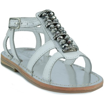 Zapatos Niños Sandalias Oca Loca OCA LOCA SANDALIA BEBE STRASS BLANCO