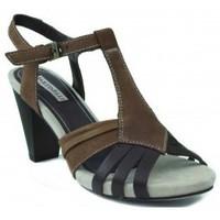 Zapatos Mujer Sandalias Martinelli MUJER SANDALIA TACON MARRON