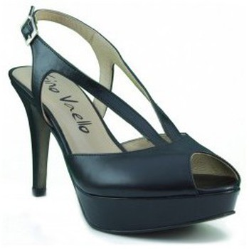 Zapatos Mujer Zapatos de tacón Gino Vaello ALSKA IRIS NEGRO