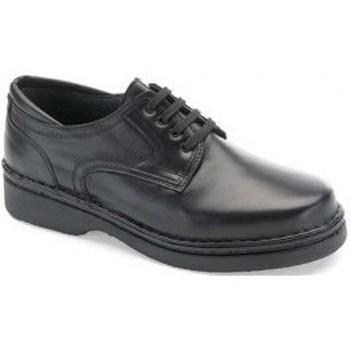 Zapatos Hombre Derbie Calzamedi ORTOPEDICO CABALLERO COMODO M NEGRO