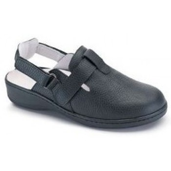 Zapatos Mujer Zuecos (Mules) Calzamedi DOBLE  W NEGRO