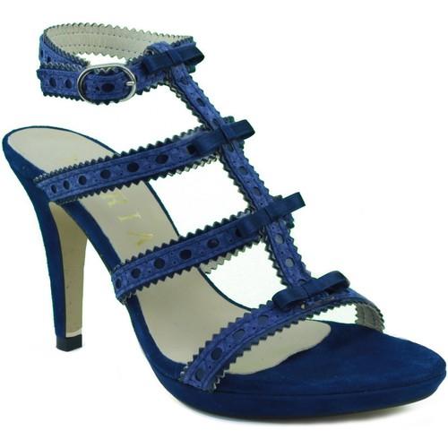 Zapatos Mujer Sandalias Marian SANDALIA TACON FIESTA AZUL