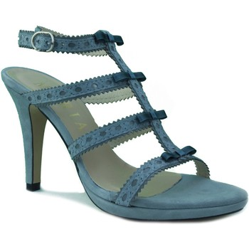 Zapatos Mujer Sandalias Marian SANDALIA TACON FIESTA GRIS