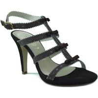 Zapatos Mujer Sandalias Marian SANDALIA TACON FIESTA MARRON