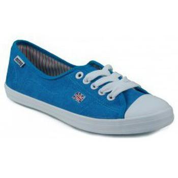 Zapatos Mujer Zapatillas bajas MTNG MUSTANG CANVAS ZAPATILLA LONA CHICA CELESTE