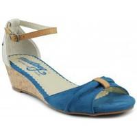 Zapatos Mujer Sandalias MTNG MUSTANG AFELPADO LONTA AZUL