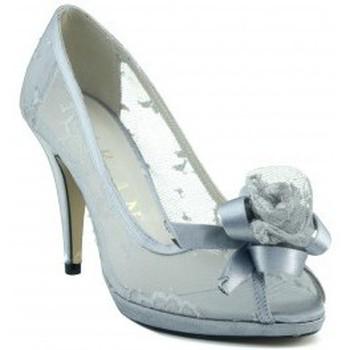Zapatos Mujer Zapatos de tacón Marian ZAPATO FIESTA TRASPARENTE COMODO PLATA