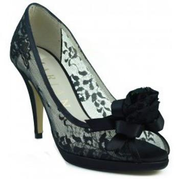 Zapatos Mujer Zapatos de tacón Marian ZAPATO FIESTA TRASPARENTE COMODO NEGRO