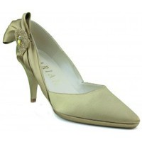 Zapatos Mujer Zapatos de tacón Marian ZAPATO DE MUJER FIESTA RASO TACON DORADO