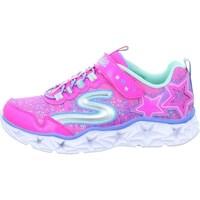 Zapatos Niña Zapatillas bajas Skechers Galaxy Lights Kinder Rosa