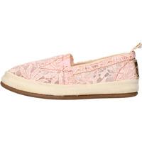 Zapatos Mujer Slip on O-joo slip on rosado textil AG958 rosado