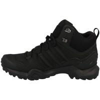 Zapatos Hombre Senderismo adidas Originals Terrex Swift R2 Mid Gtx Negros