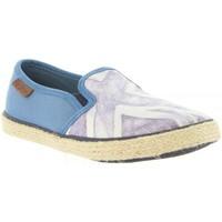 Zapatos Niños Alpargatas Pepe jeans PBS10078 FRANK Azul