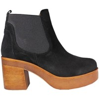 Zapatos Mujer Low boots Vienty Chelsea negro negro