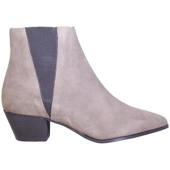 Zapatos Mujer Botines Up To You 5194 Rata gris gris