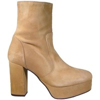 Zapatos Mujer Botines Up To You 4502 Arena beige beige