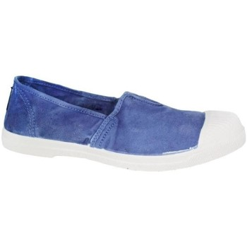 Zapatos Mujer Slip on Natural World Belgica023 azul azul