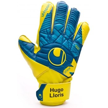 Accesorios textil Guantes Uhlsport Eliminator Speed Up Soft Advanced Lloris Hydro blue-Lite fluor yellow