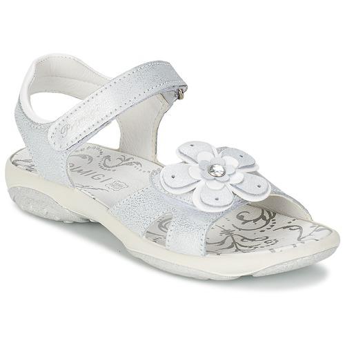 Zapatos Niña Sandalias Primigi LINA Blanco / Plateado