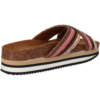 Zapatos Mujer Chanclas 5 Pro Ject AC587 marrón